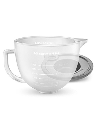 Kitchenaid K5gbf Tilt Head Frosted Glass Bowl With