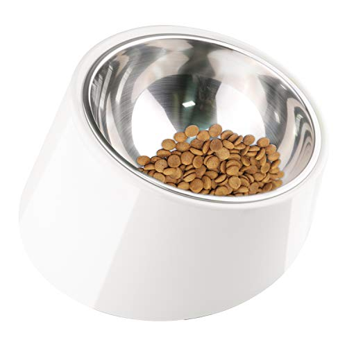 Dogit Elevated Dog Bowl, Stainless Steel Food & Water Dish